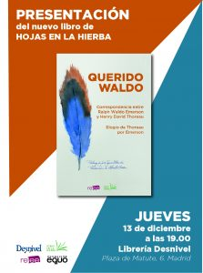 Presentación de <em>Querido Waldo</em> en Desnivel (Madrid) @ Librería Desnivel