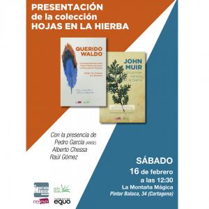Presentación de la colección Hojas en la Hierba en Cartagena @ Librería La Montaña Mágica