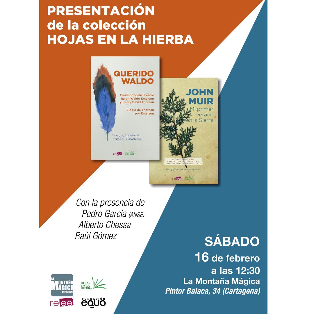 Imagen dos libros y texto presentación Cartagene