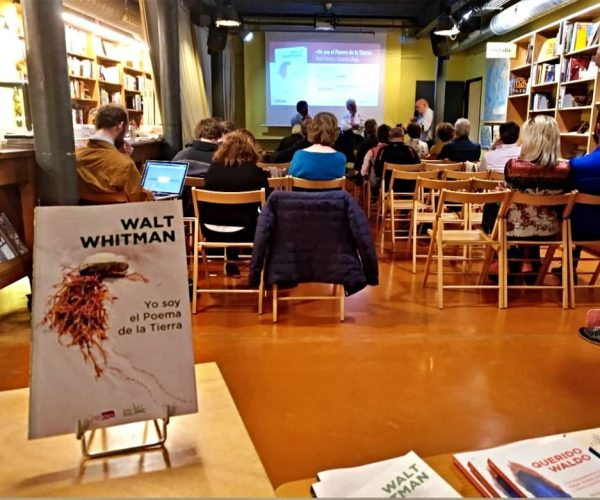 Whitman y Yo soy el Poema de la Tierra en Barcelona Altair